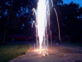Fireworks at home~ Plus links to videos! by InvaderBlitzwing