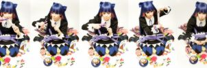 Stocking cosplay by Tenori-Tiger