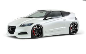 Honda CR-Z 2010 by HAYW1R3