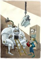 The Tin man by Ejames