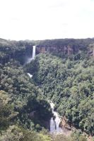 Fitzroy Falls Renowned Lookout by Jessawary