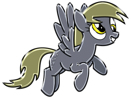 Derpy Hooves Chrome by DuskBrony