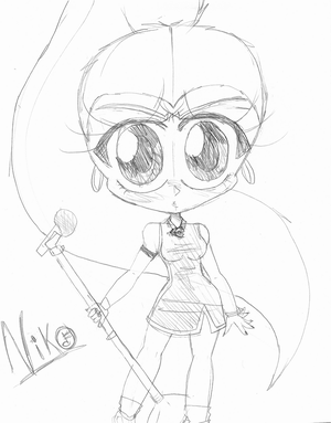 Niko Lee Chibi- SKETCH