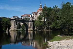 My hometown - Amarante (Portugal) by Maranus