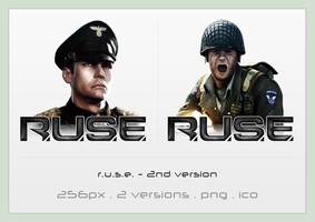 R.U.S.E. icon - 2nd version by Shimmi1