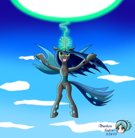 Queen Chrysalis 2 by DarkenGales