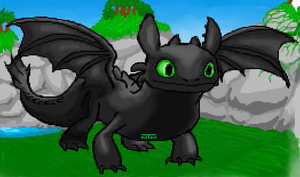 Toothless by Mariannefosho