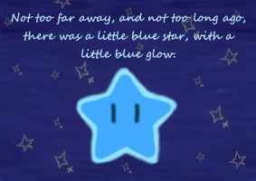 Little Blue Star by Whittles-Skittles