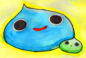 Slimes are the best by Sellotape-of-Love