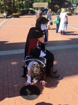 Gil's worst nightmare - Kumoricon 2012 by Urgal