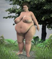 BBW _ Extra Large 2 by Rendermojo