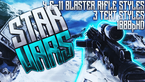 E-11 Blaster Rifle Thumbnail Pack - Star Wars by AcezProduction