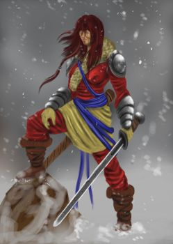 Northern Swords Woman by Shawnold