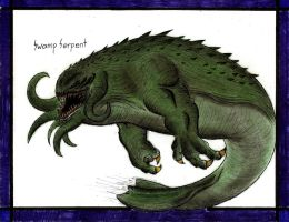 Swamp Serpent by MonsterKingOfKarmen
