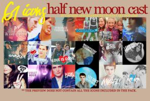 61 half new moon cast icons I by cocaineandcigarretes