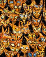 The Tarrie Cats by CliveBarker