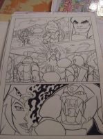 Motu comic work in progress by Granamir30