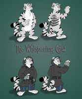 The Whispering Claw - Ref Sheet by Kresblain