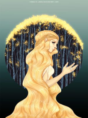 Lady of the Golden Woods by francis-john