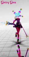 [MMD Newcomer] Candy Cane MMD Model Download FIXED by Euphobea