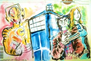 Doctor-who Age of Ultron by mannycartoon