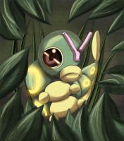 Caterpie by Yakuun