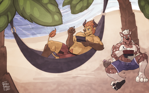 [COM] Beach Bums by FrostyPuppy