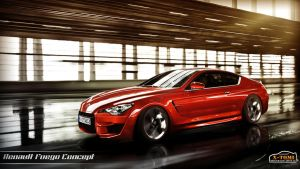 Renault Fuego Concept by x-tomi
