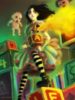 Alice in the Doll House by coralinejohns