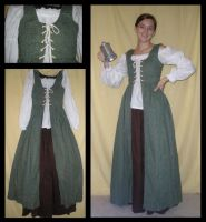 Renaissance Wench Costume by Durnesque