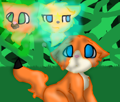 Foxzcar Thinkz Of Hiz Pazt Matez by MidnightFluffytail