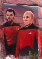 star trek tng 2 sketch card 2 by charles-hall
