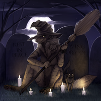 [YCH] Witching Hour by VolVokun