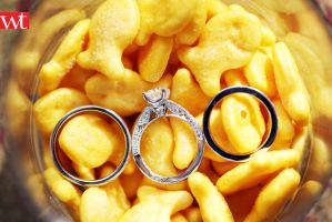 Goldfishies and Wedding rings by wilsontang