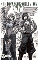 Steampunk Warangel and Gear by Shono