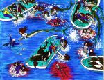 Merpeople Revenge The Dolphin Slaughter In Taiji by SebastianMerman