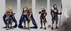 Commission: Armor Designs by juhaihai