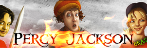 Percy Jackson BR - Banner by mikaelmello
