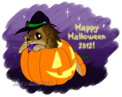 Obligatory Halloween Cuteness 2012 by LadyZolstice