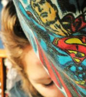 Superman's watching over me by VirginiaRoundy