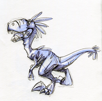 Sketch - Raptor by Ellis1342