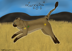 Luneysha- Jump and Run by Keshvel