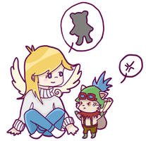 kiddie kayle and teemo by prochyprochy