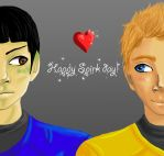 Happy Spirk day! by Shayuna