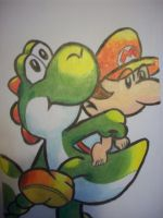 Yay for Yoshi by andyburgos