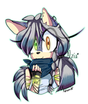Alzia The Hedgehog. by kaykayamy
