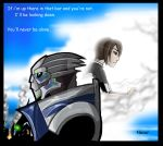 Garrus and Shepard- you'll never be alone by rotten-jelly-babie