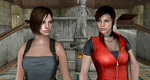 Raccoon city : Jill and Claire by Mister-Valentine