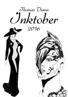 Inktober 2016 Digital Artbook by BeignetBison