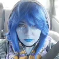 Lapis Lazuli makeup by TaliBelle-Cosplay